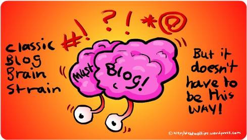 Blogger Brain Strain